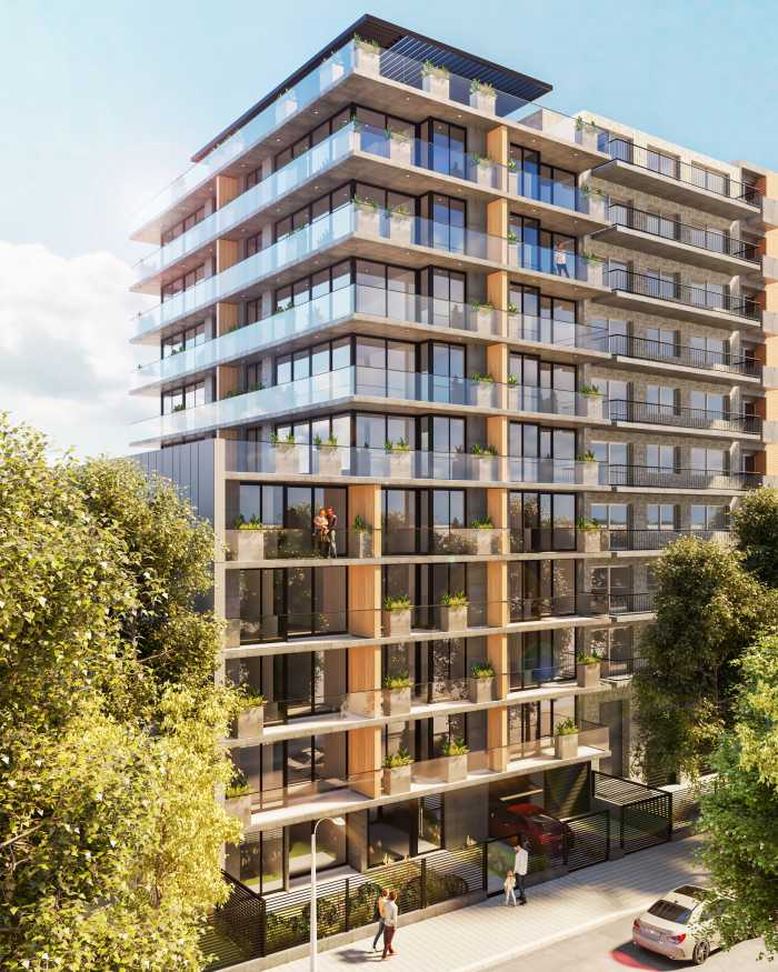 Venta apartamento 1 dormitorio en Pocitos Novus Lamas