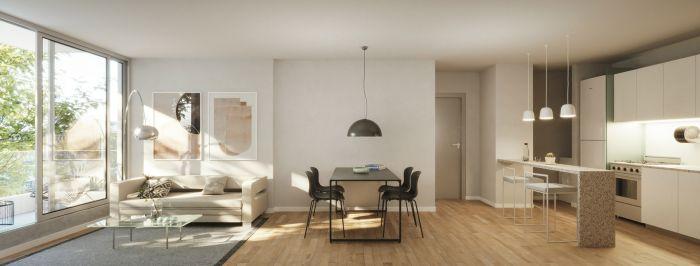 Apartamento 2 Dormitorios en Tres Cruces