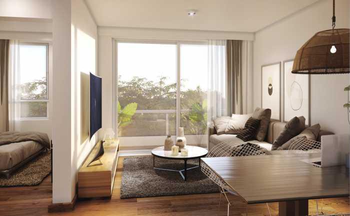 Venta de apartamento de 1 dormitorio en Madero Tres Cruces