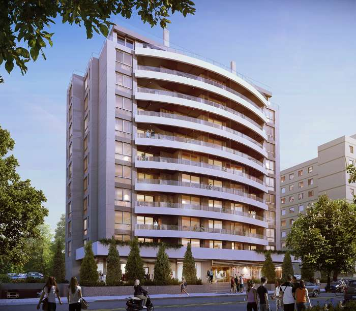 Venta de apartamento 2 dormitorios en Edificio Italia