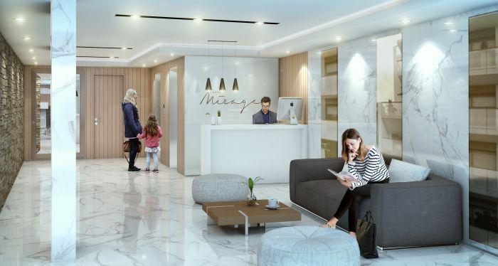 Venta Apartamento 1 Dormitorio Punta Caretas  Torre Mirage