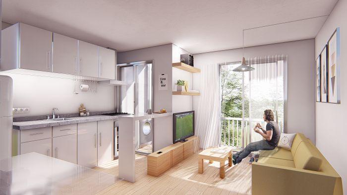 ¡Venta de apartamento de 2 dormitorios en Cordón Sur!