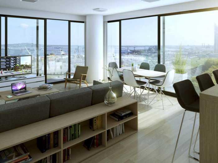 Venta Apartamento 1 Dormitorio En Nostrum Central