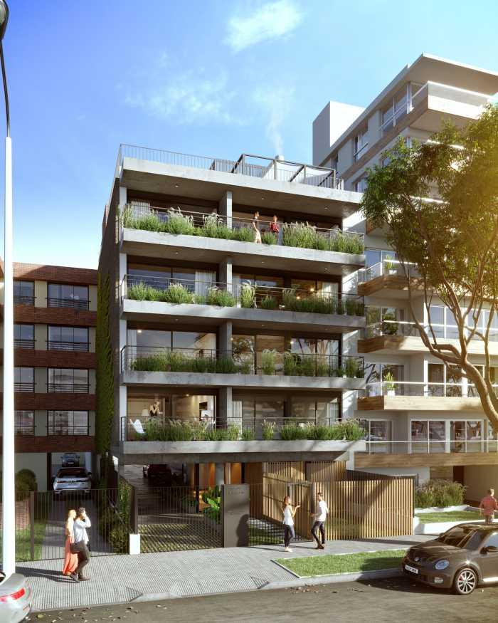 Venta de apartamento monoambiente en Malvín, Site Concepción