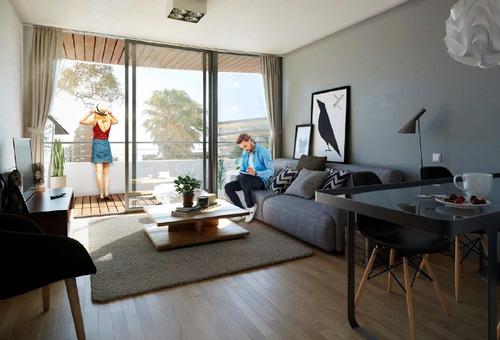 Venta apartamento 1 Dormitorio En Pocitos Plaza