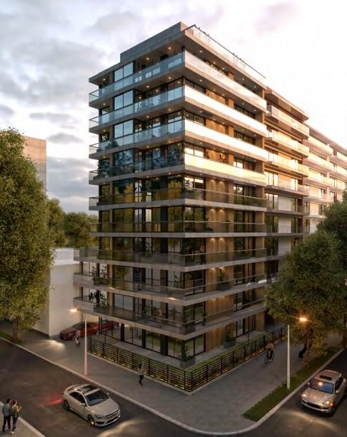 Venta de apartamento 2 dormitorios URBAN PUNTA CARRETAS II