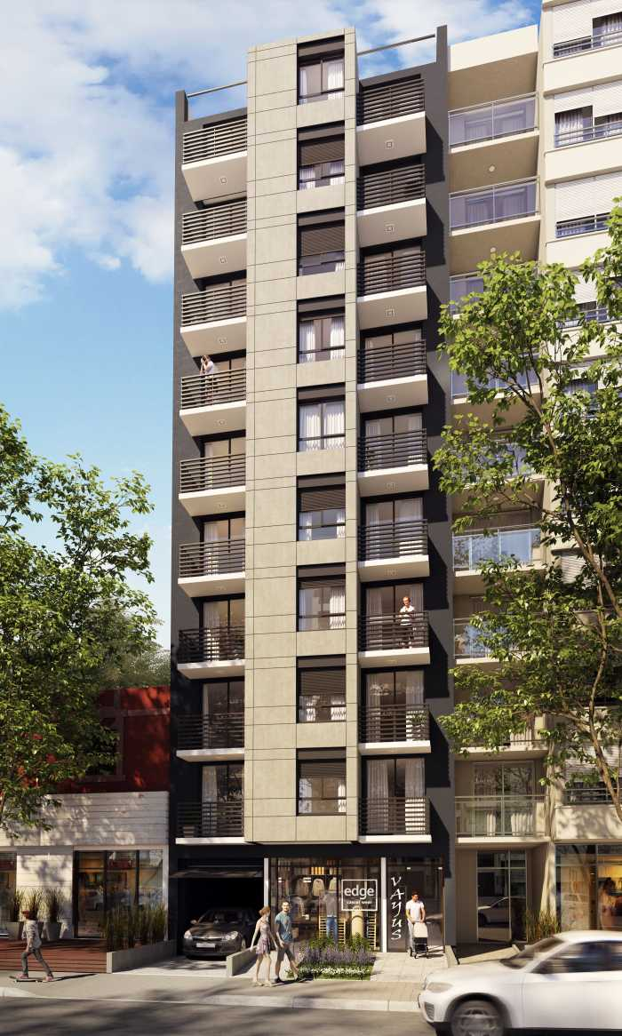 Venta apartamento 1 dormitorio Pocitos edificio Vayus