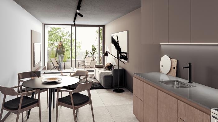 Venta de apartamento de 2 dormitorios en Pocitos, Casa Berro