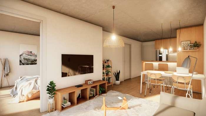 Venta de apartamento 1 dormitorio en Pocitos Fit26
