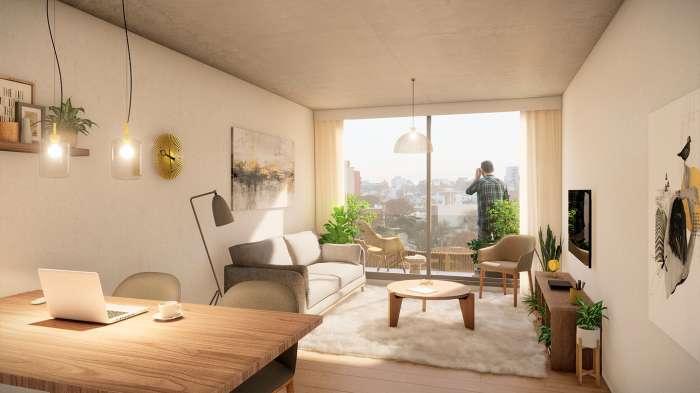 Venta de apartamento de 2 dormitorios en Pocitos Fit26