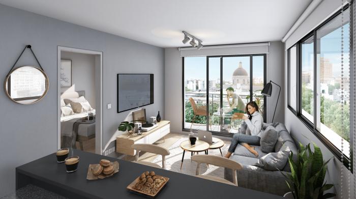 Venta de apartamento de 2 dormitorios en Cordón, Flip!