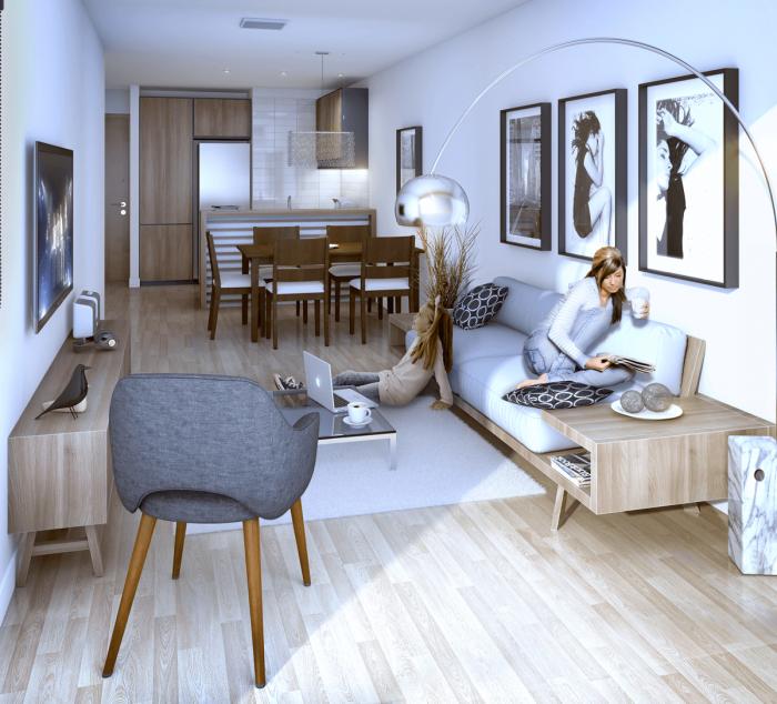 Apartamento monoambiente en venta - Pocitos!!