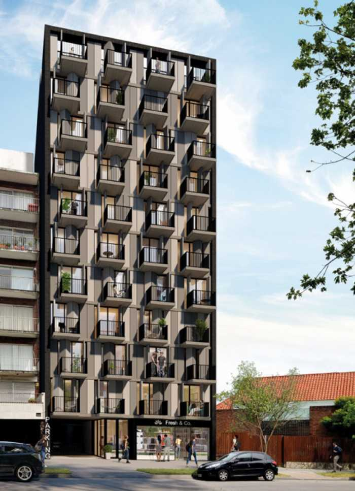 Venta de Monoambiente en Edificio YES!, Pocitos