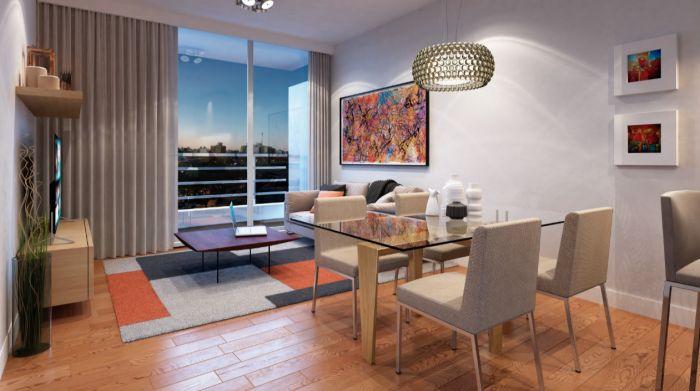 Venta de apartamento de 1 dormitorio en Pocitos JOY
