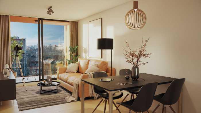 Venta de apartamento de 2 dormitorios en 01 SYNC, Barrio Sur