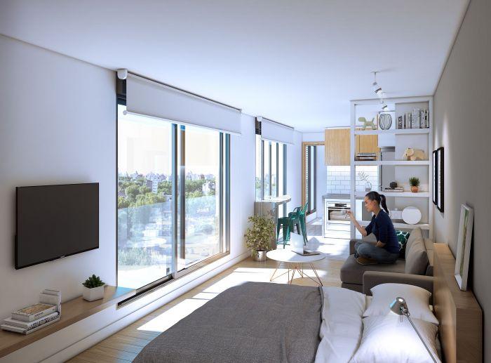 ¡Venta de apartamento de 1 dormitorio en Punta Carretas!