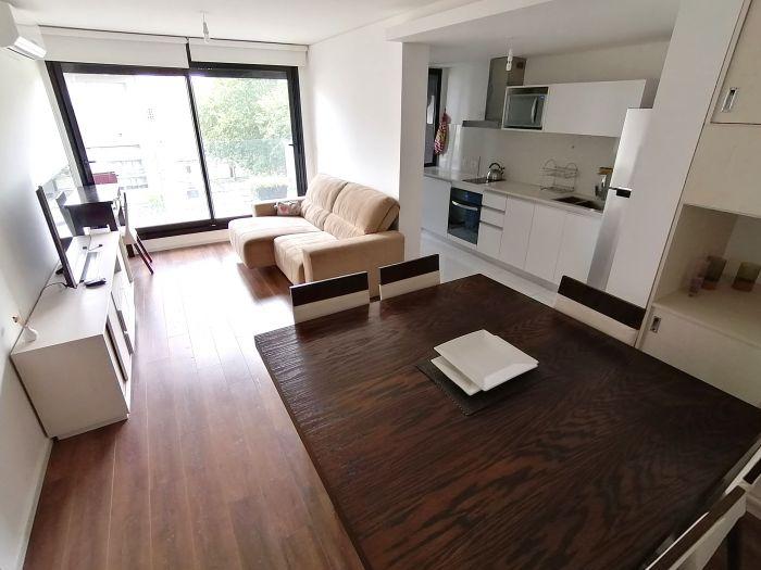 Hermoso Apartamento de 1 Dormitorio con Garage en Alma Sur