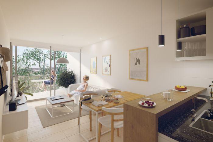 Venta Apartamento De 1 Dormitorio En Cordón. Be Tower Soho
