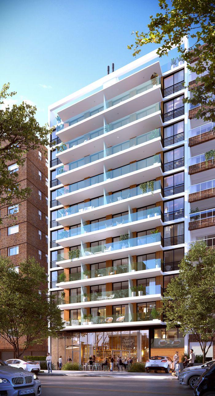 Venta Apartamento 1 Dormitorio Pocitos Park Square Sarmiento