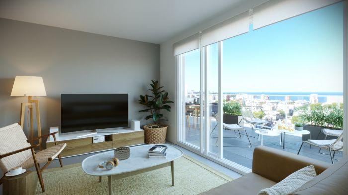 ¡Venta de apartamento de 1 dormitorio en Cordón!