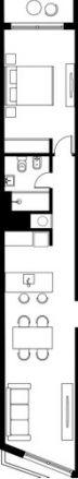 Venta De Apartamento 1 Dormitorio - Pocitos