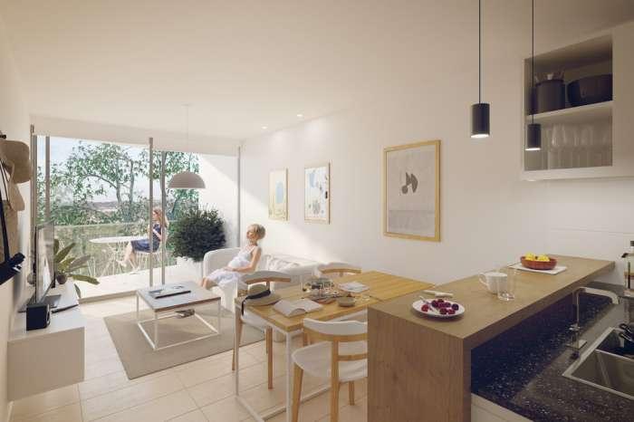 Venta Apartamento De 1 Dormitorio En Cordón. Kiu Tower Soho