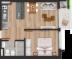 Venta de apartamento de 1 dormitorio en Cordón, Flip!