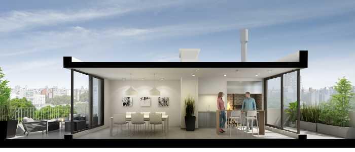 Venta apartamento 2 dormitorios en Parque Batlle Site Italia